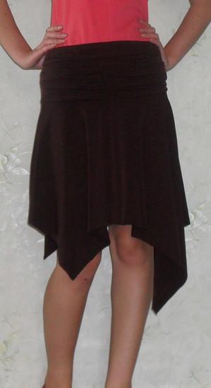 Rudas sijonas