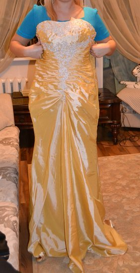 Geltona progine sukne