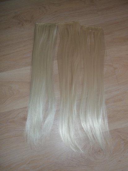 Blond tresiukai