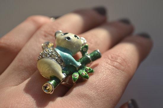 žiedas panda