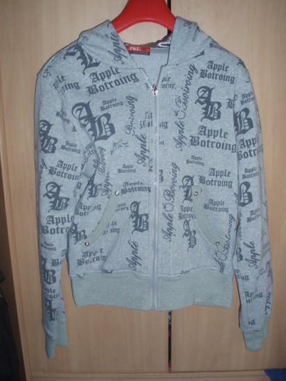 Šiltas pilkas džemperis