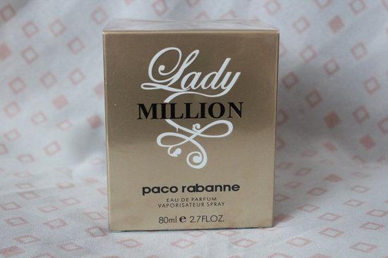 Lady Million Paco Rabanne 80ml EDP