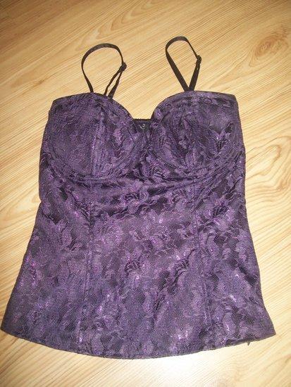 Violetinis korsetas