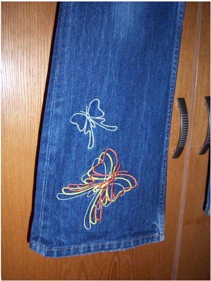 Lee Topas, labai gražus džinsai,