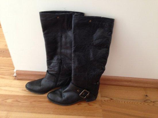 juodi,rudeniniai batai