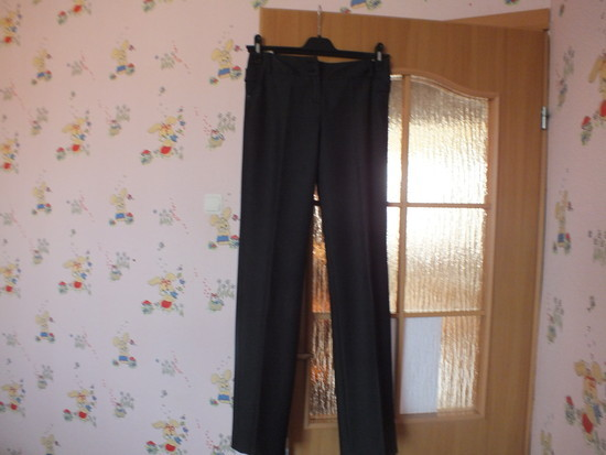 Pilkos klasikinės kelnės