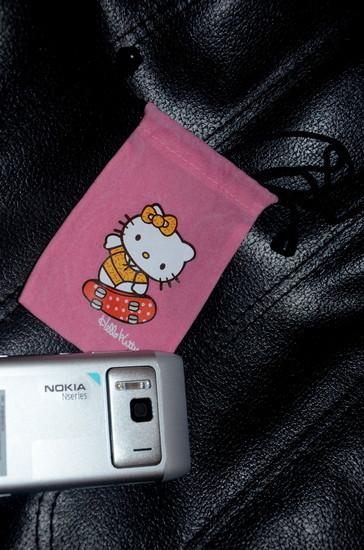 Naujas Hello Kitty dėkliukas