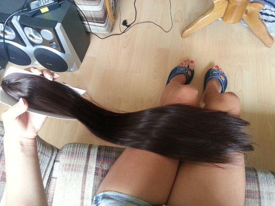 Sinjonas rudi ilgi plaukai
