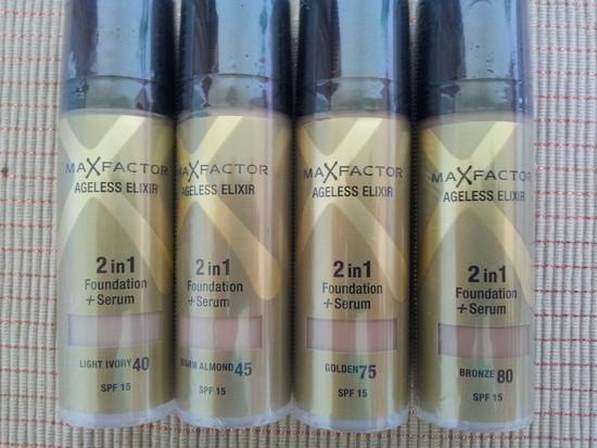 Max Factor Elixir 2 in 1 pudra