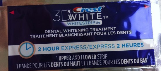 Crest 3D White 1-Hour Expres