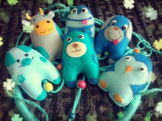 Karuselė Mėlyni Draugai