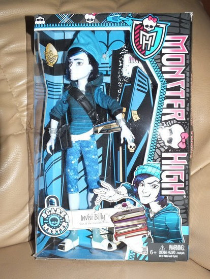 monster high Invisi Billy