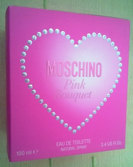 Moschino Pink Bouquet kvepalai moterims tik 75lt
