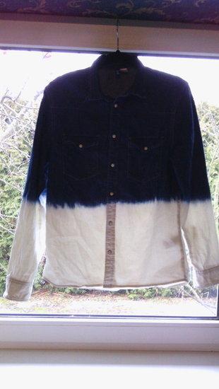 Pereinančių spalvų H&M laisvalaikio marškiniai
