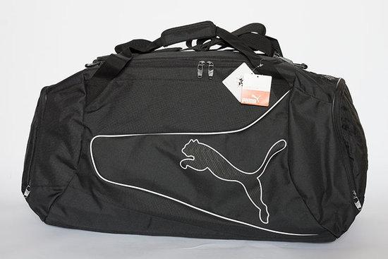 Juodas ypač talpus Puma krepšys