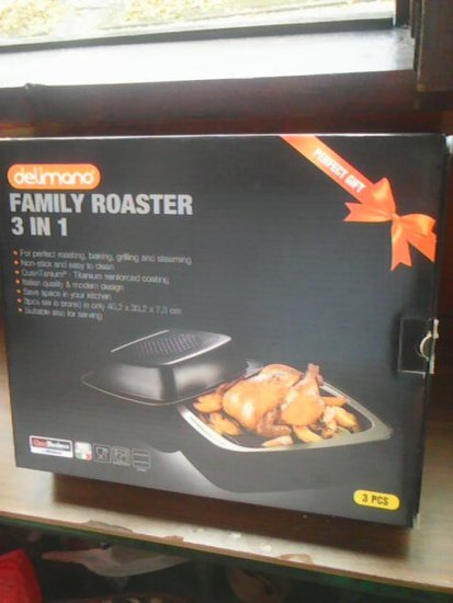 Delimano Family Roaster 3 in 1