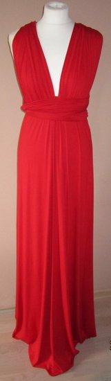 raudona ryski suknele